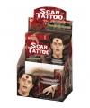 Scars plak tattoo stickers