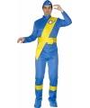 Thunderbirds verkleed kleding heren 52-54 (L) Blauw