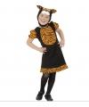 Tijger kostuum voor meisjes 110 Multi
