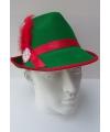 Tiroler accessoires hoed groen