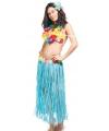 Tropical hawaii rok voor dames One size Blauw