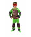 Turtle kostuum voor kids 5-7 jaar (M) Multi