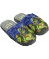 Turtles kindersloffen blauw