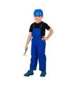 Verkleed overall bouwvakker voor kinderen 116 (6 jaar) Blauw