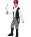 Verkleedkleding piratenpak kind 145-158 (10-12 jaar) Multi