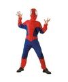 Verkleedkleding spinnenheld pak 130-140 (10-12 jaar) Multi