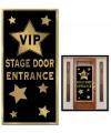 Deur banner VIP ingang 76 x 150 cm