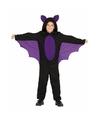 Vleermuizen halloween verkleedkleding voor jongens 7-9 jaar (122-134) Multi