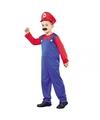 Voordelig Loodgieter kostuum voor een kind 120-130 (7-9 jaar) Multi