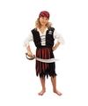 Voordelig piraten kostuum voor meisjes 130-140 (10-12 jaar) Multi