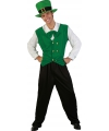 Voordelig st patricks day kostuum S Groen