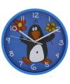 Blauwe klok pinguin 23 cm