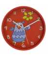 Rode klok uil 23 cm