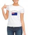 Nieuw Zeelandse vlag t-shirt voor dames