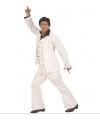 Wit Travolta kostuum voor heren XL Wit