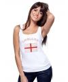 Engelse vlag tanktop / t-shirt voor dames