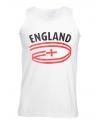 Engeland tanktop voor heren met vlaggen print