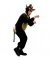 Woedende stier kostuum XL Bruin