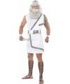 Wit Zeus kostuum voor heren