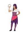 Zigeuner Esmeralda verkleedjurk voor meisjes 140 (10-12 jaar) Multi