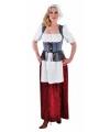 Zigeunerin kostuum voor dames 36 (S) Multi