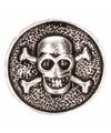 Piraten chunk met doodshoofd 1,8 cm