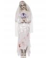 Zombie bruid kostuum 36-38 (S) Multi