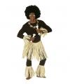 Zulu krijgers set voor volwassenen One size Multi