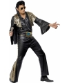 Zwart met goud Elvis Presley pak 52-54 (L) Multi