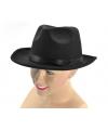 Zwarte Freddy hoed voor volwassenen