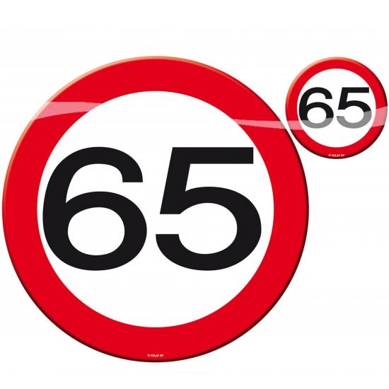 65 jaar verjaardag tafel decoratie fun en feest - Deco halloween tafel maak me ...