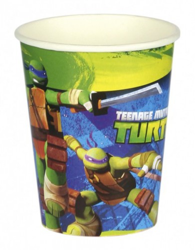 Ninja Turtles drinkbekers 8 stuks