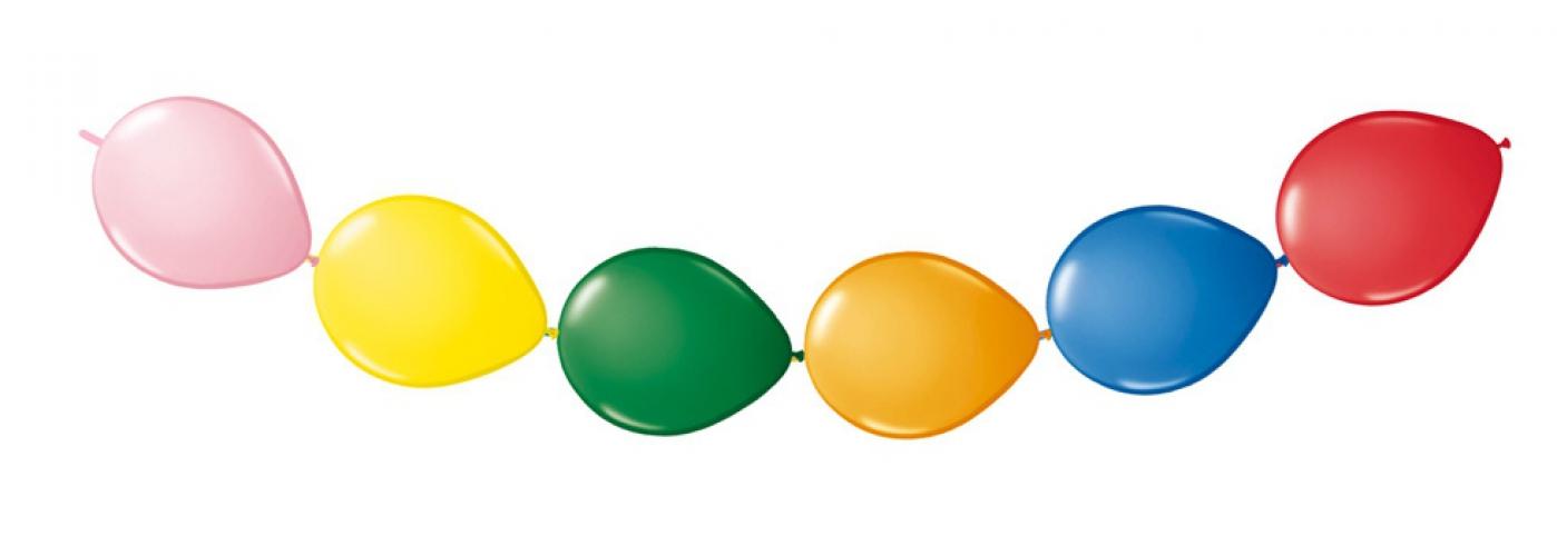 Knoop ballonnen 8 x