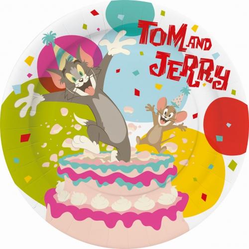 Tom en Jerry bordjes 10 stuks