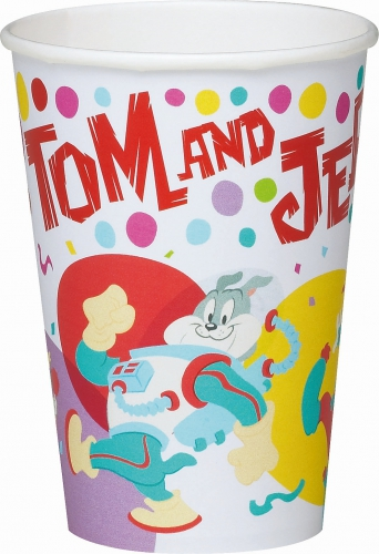 Tom en Jerry bekers 10 stuks