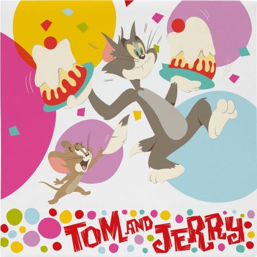 Tom en Jerry servetten 20 stuks