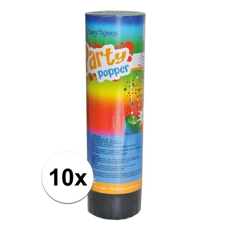 10x voordelige kleine party poppers