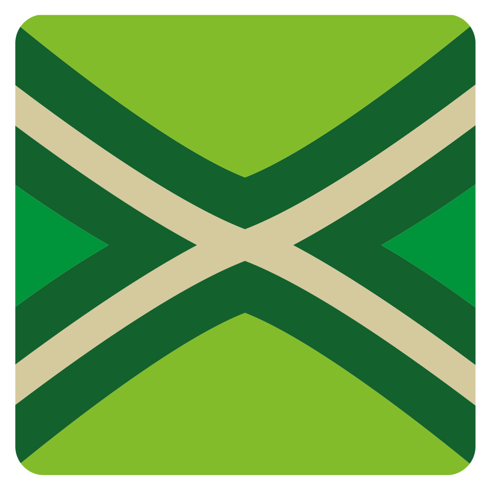 15x stuks Achterhoekse vlag / De Graafschap onderzetters / bierviltjes van karton -