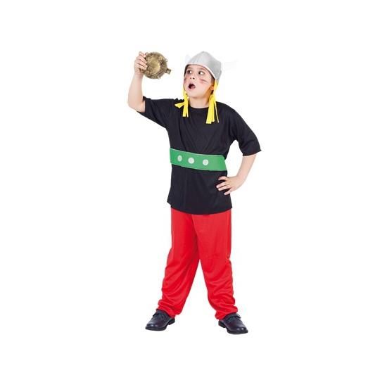 3-delig Gallier kostuums voor kinderen 120-130 (7-9 jaar) Multi