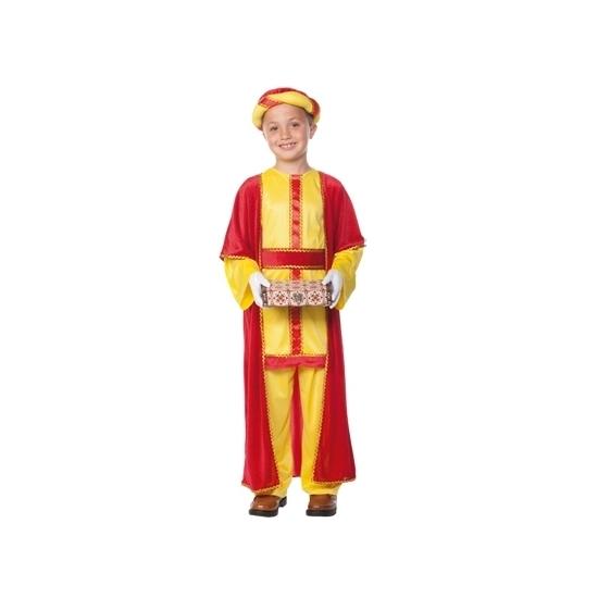 3 koningen kostuum Balthasar voor kids 7-9 jaar Multi