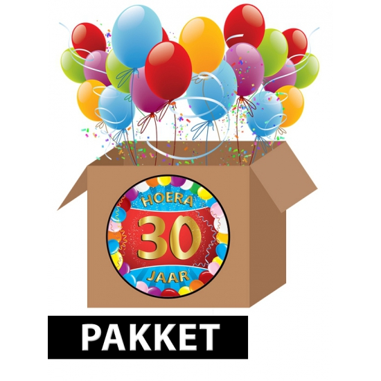 Betere Feestartikelen 30 jaar   Fun en Feest DG-13