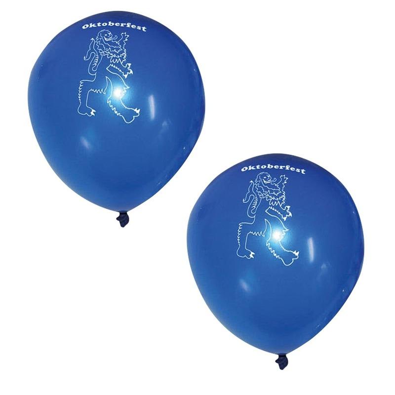 48x Beieren Oktoberfest ballonnen -