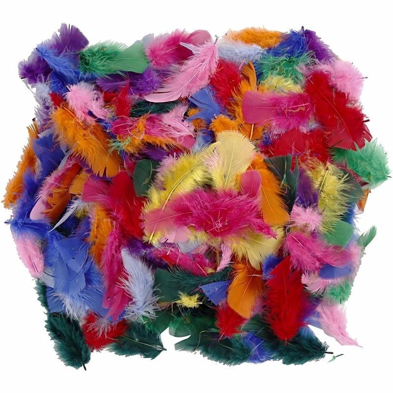 50 gram decoratieveren gekleurd