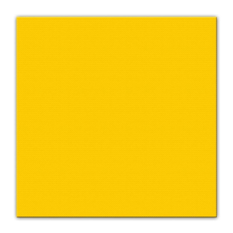 50x Feest servetten Pasen geel 33 x 33 cm -
