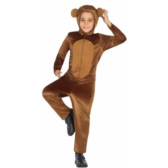 Aap Tootsie verkleedkleding voor kinderen 116 (5-6 jaar) Bruin