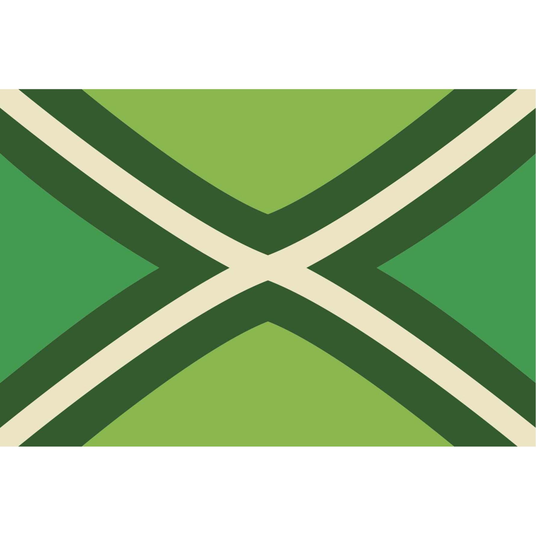 Achterhoek Gelderland vlag polyester 150 x 90 cm -