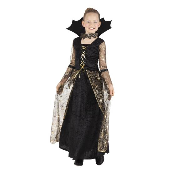 Adrienne heks jurkje voor meiden 4-6 jaar Multi