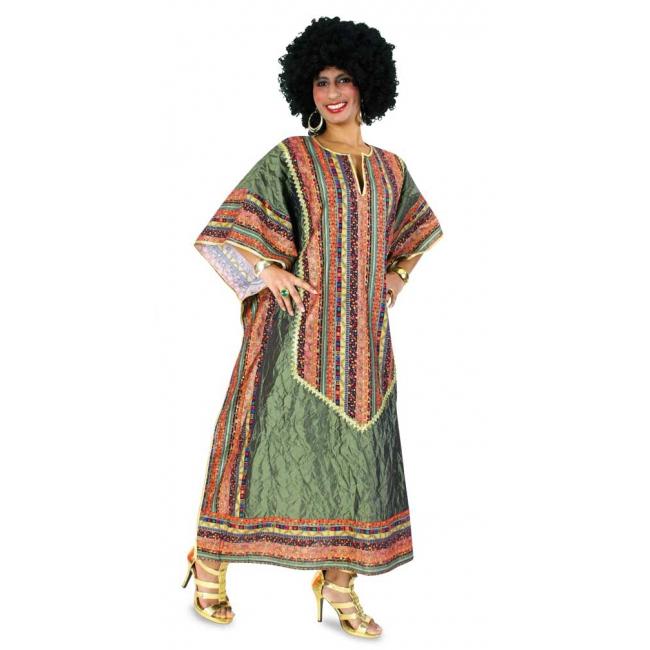 Afrikaanse Kaftan kleding XL Multi