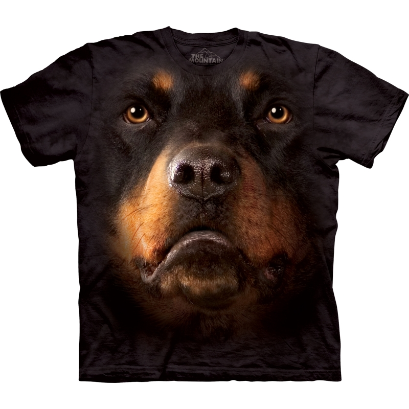 All over print t shirt met Rotweiler XL Multi