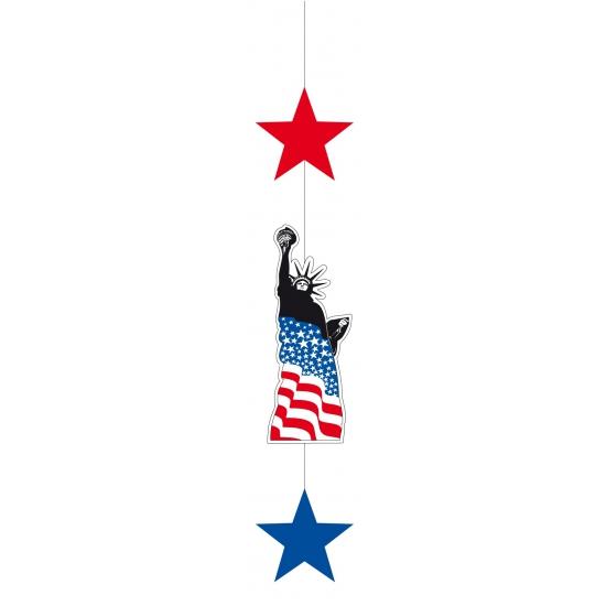 Amerika hangdecoratie 105 cm Multi